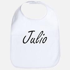 Julio Artistic Name Design Bib
