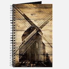 barnwood western country windmill Journal