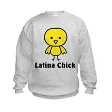 Latina Chick T-shirts & Gifts Sweatshirt