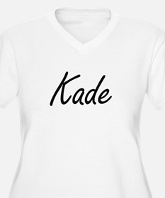 Kade Artistic Name Design Plus Size T-Shirt