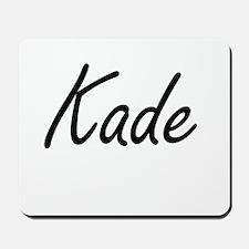 Kade Artistic Name Design Mousepad