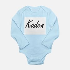 Kaden Artistic Name Design Body Suit