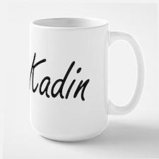 Kadin Artistic Name Design Mugs