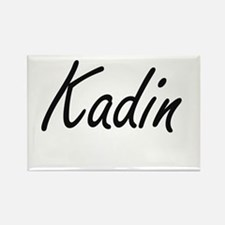Kadin Artistic Name Design Magnets