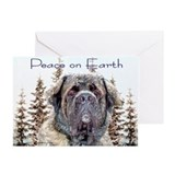 Mastiff christmas Greeting Cards (20 Pack)