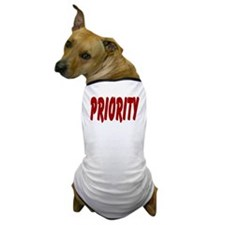 PRIORITY Dog T-Shirt