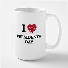 I Love Presidents' Day Mugs