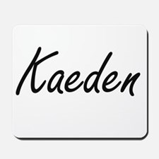 Kaeden Artistic Name Design Mousepad