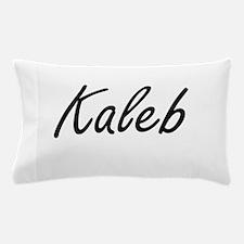 Kaleb Artistic Name Design Pillow Case