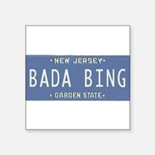 "Cute Sopranos bada bing Square Sticker 3"" x 3"""