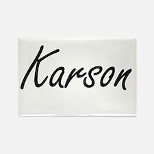 Karson Artistic Name Design Magnets