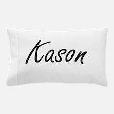 Kason Artistic Name Design Pillow Case