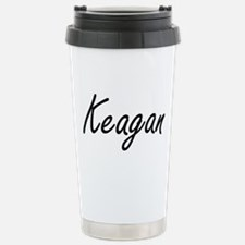 Keagan Artistic Name De Stainless Steel Travel Mug