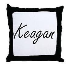Keagan Artistic Name Design Throw Pillow
