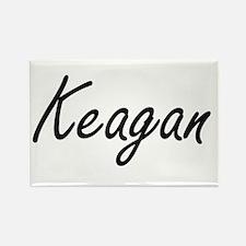 Keagan Artistic Name Design Magnets