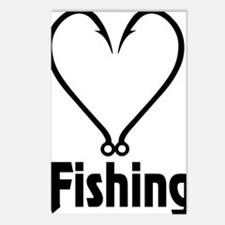Love Fishing Postcards (Package of 8)
