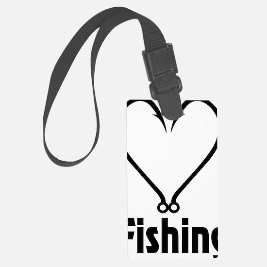 Love Fishing Luggage Tag