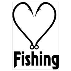 Love Fishing Poster