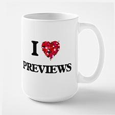 I Love Previews Mugs