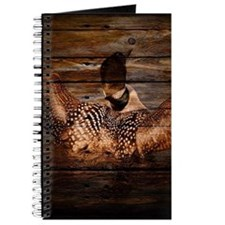 barn wood wild loon Journal