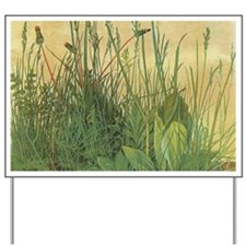 Large Piece of Turf by Albrecht Durer Yard Sign