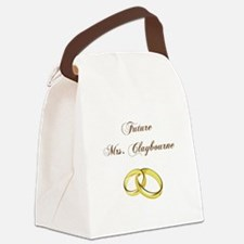 FUTURE MRS. CLAYBOURNE Canvas Lunch Bag