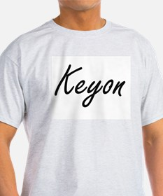 Keyon Artistic Name Design T-Shirt