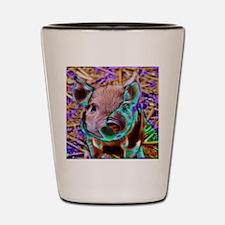 funky Piglet Shot Glass