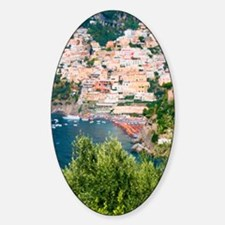 Italy, Amalfi Sticker (Oval)