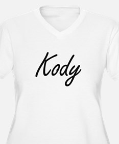 Kody Artistic Name Design Plus Size T-Shirt