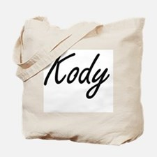 Kody Artistic Name Design Tote Bag