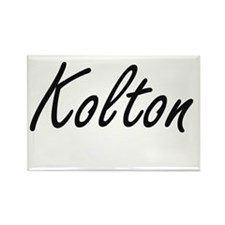 Kolton Artistic Name Design Magnets