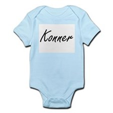 Konner Artistic Name Design Body Suit