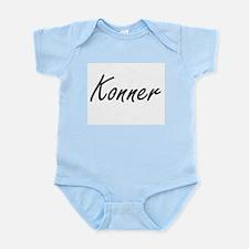 Konner Artistic Name Design Body Suit