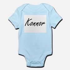 Konnor Artistic Name Design Body Suit