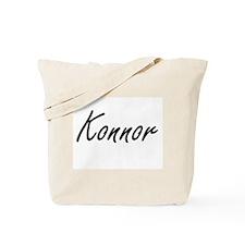 Konnor Artistic Name Design Tote Bag
