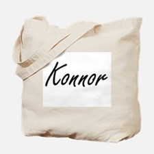 Konnor Artistic Name Design Tote Bag
