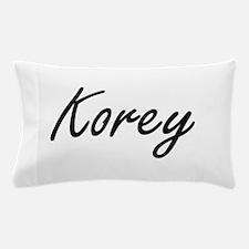 Korey Artistic Name Design Pillow Case
