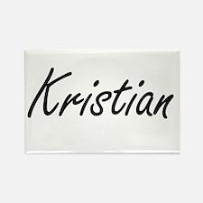 Kristian Artistic Name Design Magnets