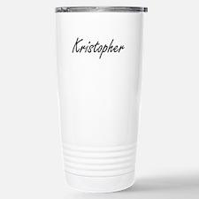 Kristopher Artistic Nam Travel Mug