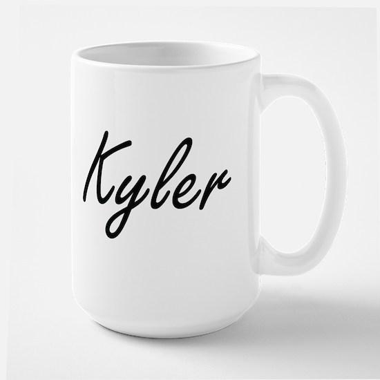 Kyler Artistic Name Design Mugs