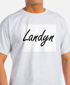 Landyn Artistic Name Design T-Shirt