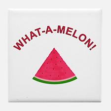 What-A-Melon A.K.A. Watermelon Tile Coaster