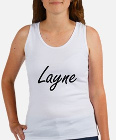 Layne Artistic Name Design Tank Top