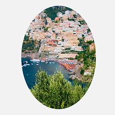Italy, Amalfi Oval Ornament
