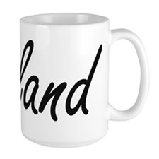 Leland Artistic Name Design Mugs