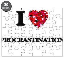 I Love Procrastination Puzzle