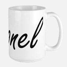 Leonel Artistic Name Design Mugs