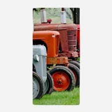 American Farm Tractors Beach Towel
