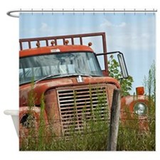 Vintage transportation Shower Curtain